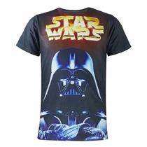 Playera De Star Wars 3d Darth Vader Y Kylo Ren The Force A.