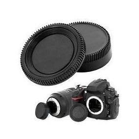 Tampa Do Corpo E Da Lente Nikon D70s D90 D3100 D3200 D5100
