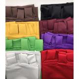 Cortina Blackout Textil 2 Paños 2 X 1,30 Mts Lista P/ Colgar