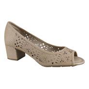 Sapato Peep Toe Feminino Modare Esporao Joanete 7316.116