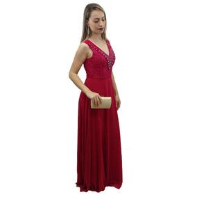 Vestido Longo Festa Casamento Madrinha Formatura Elegante