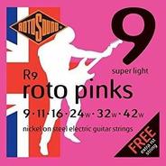 Encordado Eléctrica Rotosound Roto Pinks R9 009-042 - Ing