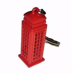 Mini Chaveiro Cabine Londres Torre Presente Metal