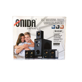 Home Theater Onida 5.1 Canales 8000w Usb, Fm, Sdcard