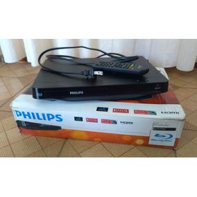 Reproductor De Blu-ray Y Dvd Marca Phillips Modelo Bdp2900