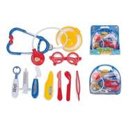 Brinquedo Kit Maleta Médica Rosa Fênix 399r