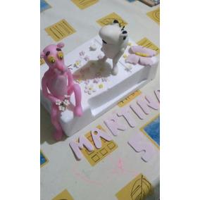 Pantera Rosa Porcelana Fria