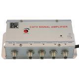 Eliminador Lluvia Amplificador X 4 Salidas Tv Cable Magico