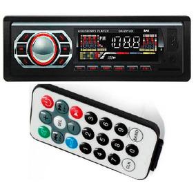 Toca Radio Carro Mp3 Player Som Automotivo Pen Driver Usb Fm