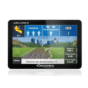 Gps Discovery Channel Tela 4.3 Tv Digital, Mp3 E Mp4 Player