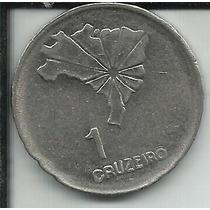 Moeda Brasil 1 Cruzeiro 1972 Comemorativa Sesquicentenário