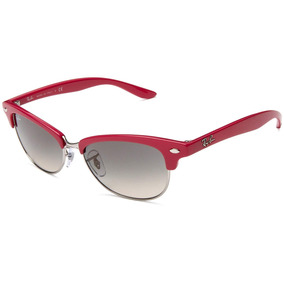 ab474077e1c18 Óculos Ray Ban Cathy Clubmaster Rb4132 Roxo Pequeno Feminino De Sol ...
