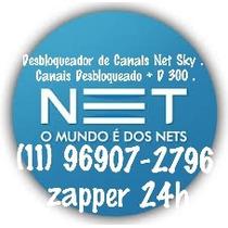 Aparelhos Desbloqueador Tv Cabo Net Sky Novo Garantia 36mese