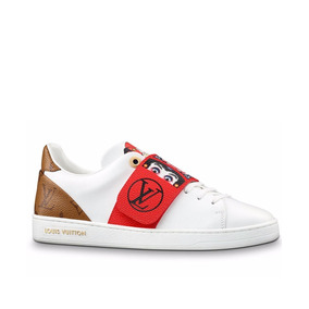 Sapato Tenis Louis Vuitton Kyoto Feminino Couro Importado