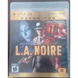 L.a. Noire (ps3) Usado