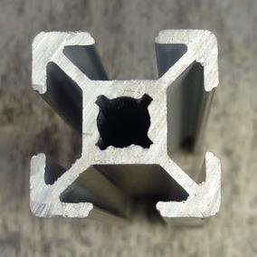Perfil De Aluminio Estructural 20x20 Ranurado