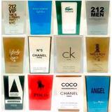 Kit 10 Perfumes Alta Fixação Duração Até 8 Horas Contratipo
