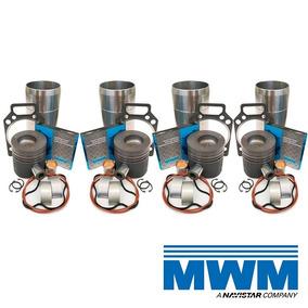 Kit Motor Mwm 229/4 + Junta Cabeçote + Bronzina + Brinde