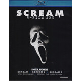 Scream 1 , 2 Y 3 + 2 Documentales Boxset Blu-ray