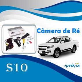 Câmera De Ré Original S10 Cabine Dupla 2016/2017 Gm 52097822
