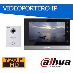 Videoportero Ip Dahua Pantalla 7 - App Celular - El Mejor