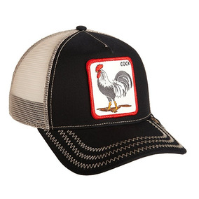 Gorra Goorin Bros. Gallo Cock Negro Animal Farm Envío Gratis