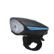 Lanterna Led P/ Bike C/ Buzina Recarregável Últimas Unidades