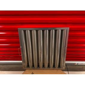 Filtro De Acero Inox 50x50 Cms Sunyk Cocinas Industriales