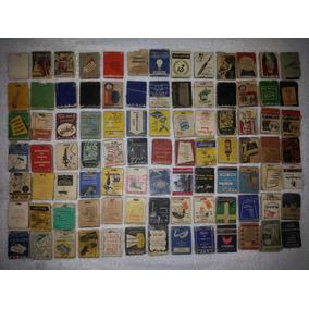 Caixas De Fósforos Antigas Das Décadas De 1950 E 1960