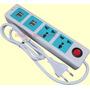 Zapatilla Electrica Prolongador 2 Tomas 4 Usb Cargador 6en1