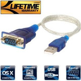 Sabrent Usb 2.0 A Serial (9 Pines) Db-9 Rs-232 Cable Del Con