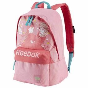 Mochila Escolar Infantil Frozen Rosa Reebok