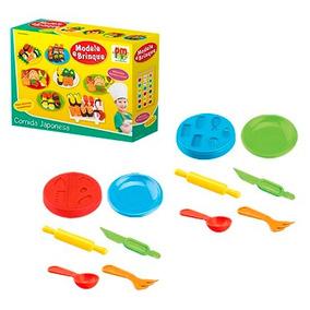 Massinha Modele Brinque Comida Japonesa Brinquedo Infantil
