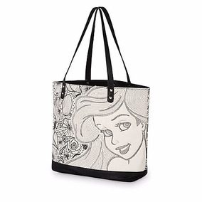 Bolsa La Sirenita Ariel Black Loungefly Disney Store 2017