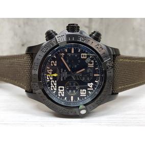 Reloj Breitling Verde Militar 48mm (fotos Reales)