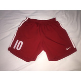Nike Pantaloneta Mercurial Roja # 10 Futbol Shorts Gym L