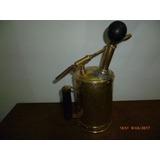 Pulverizador, Fumigador Antiguo De Bronce
