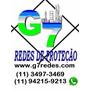 Redes Telas De Proteção / Malhas 10x10 5x5 3x3