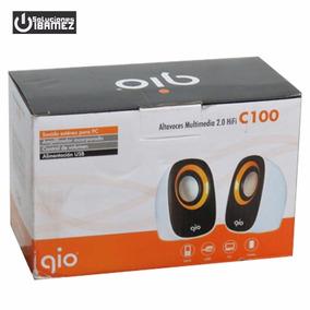 Altavoces Multimedia 2.0 Hifi / Gio / C100 / Control Volumen