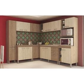Cozinha Modulada Decibal New Madrid 05 15 Portas 3 Gavetas -