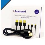 Tronsmart Cable Alta Calidad Micro Usb 3 Pies