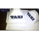 Aviso De Taxi Tipo Casco
