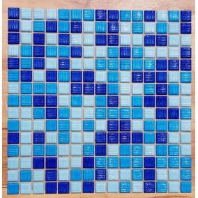 Venecitas Por Plancha 33x33 (225 Pastillas) Mix Azul/celeste
