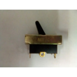 Switche Secador De Pelo 3 Pines 13 Amp Negro