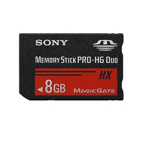 Cartão De Memória Sony Memory Stick Pro Hg Duo Hx 8gb Psp