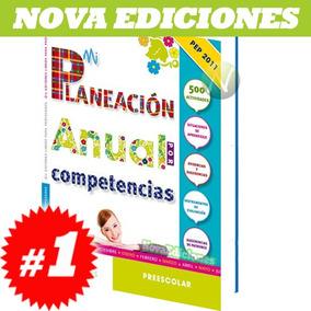 Mi Planeación Anual Por Competencias En Preescolar 1 Vol