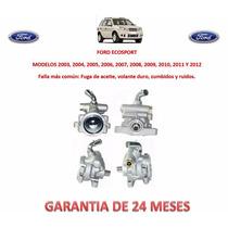 Bomba Licuadora Direccion Hidraulica Ford Ecosport 2009