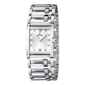 Reloj F16550/3 Plateado Festina Mujer Only For Ladies