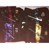 Túnica Harry Potter +lápiz Varita + Collar, Pulsera O Lentes