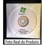 Cd/dvd Wind©ws 7 Todas Versões -ativação Automática Original